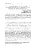 Ảnh hưởng của biện pháp xử lý cơ chất đến sinh trưởng, phát triển và năng suất nấm Rơm trồng trên phụ phẩm vỏ cà phê tại Sơn La