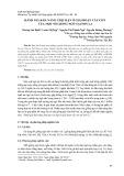 Đánh giá khả năng chịu hạn ở giai đoạn cây con của một số giống ngô tại Sơn La