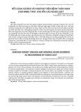 Rối loạn xương và khoáng trên bệnh thận mạn (CKD-MBD) theo khuyến cáo KDIGO 2017
