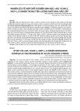 Nghiên cứu tổ hợp chất chỉ điểm sinh học: vWF, VCAM-1, MCP-1, D-Dimer trong tiên lượng nhồi máu não cấp