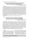 Nghiên cứu hiệu quả của phương pháp cắt lạnh polyp đại tràng dưới 1cm qua nội soi