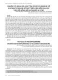 Nghiên cứu đánh giá hoạt tính polyethylenimine với glutamate oxidase để phát triển cảm biến sinh học theo dõi nồng độ glutamate in vitro