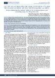 Các yếu tố tác động đến việc được tuyển dụng của sinh viên ngành Tài chính – Kế toán trường Đại học Lạc Hồng
