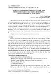 Nghiên cứu hình thái, thể lực của học sinh trường trung học phổ thông Bình Thuận, huyện Thuận Châu, tỉnh Sơn La