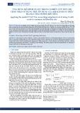 Ứng dụng mô hình UTAUT trong nghiên trong nghiên cứu mức độ chấp nhận sử dụng thẻ tín dụng của khách hàng trên địa bàn thành phố Biên Hòa