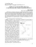Nghiên cứu xây dựng hệ thống phân loại và thành lập bản đồ cảnh quan lãnh thổ tỉnh Sơn La