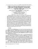 Nghiên cứu tính tổn thương sinh kế của ngư dân trong bối cảnh biến đổi khí hậu - trường hợp nghiên cứu tại xã Hương Phong, thị xã Hương Trà, tỉnh Thừa Thiên Huế