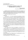 Đặc điểm mã chữ trong văn bản cơ sở ghi chép thơ của Nguyễn Bảo