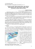 Đánh giá thực trạng hàm lượng asen trong môi trường nước, đất sử dụng trồng trọt tại huyện An Phú, tỉnh An Giang