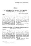 Ngân hàng hợp tác xã Việt Nam - thực trạng và giải pháp về đào tạo nguồn nhân lực