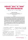 """Phân biệt """"weile"""" và """"yibian"""" trong tiếng Hán hiện đại"""