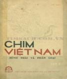 Hình thái và phân loại các loài chim Việt Nam (Tập 2): Phần 1