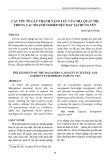 Các yếu tố cấu thành năng lực của nhà quản trị trong các doanh nghiệp dệt may tại Hưng Yên