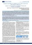 Đánh giá lợi thế so sánh bộc lộ của Việt Nam so với Malaysia và Thái Lan