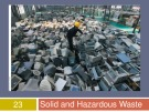 Lecture Human ecology - Chapter 23: Solid and hazardous waste