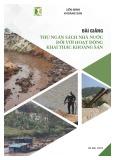 Bài giảng Thu ngân sách nhà nước đối với hoạt động khai thác khoáng sản