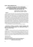 So sánh tác dụng gây tê tủy sống bằng bupivacain neostigmin và bupivacain fentanyl trong phẫu thuật nội soi khớp gối