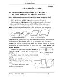Bài giảng Sức bền vật liệu: Chương 1 - GV. Lê Đức Thanh