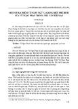 Một số đặc điểm về ngôn ngữ và giọng điệu phê bình của Vũ Ngọc Phan trong nhà văn hiện đại