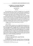 Vai trò của vùng đất Vĩnh Ninh đối với kinh thành Tây Đô