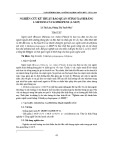 Nghiên cứu kỹ thuật bảo quản súp lơ xanh bằng 1-Methylcyclopropene (1-MCP