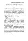 Thực trạng hứng thú học tập của sinh viên ngành Tâm lý học trường Đại học Hồng Đức
