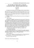 Kỹ năng học tập trên lớp của sinh viên ngành Tâm lý học - Trường Đại học Hồng Đức