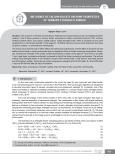 Influence of calium sulfate on some properties of ternary ettringite binder