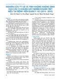 Nghiên cứu tỷ lệ và tính kháng kháng sinh của các vi khuẩn gây nhiễm khuẩn tiết niệu tại Bệnh viện Quân y 103 (2014-2016)