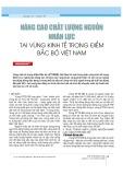 Nâng cao chất lượng nguồn nhân lực tại vùng kinh tế trọng điểm Bắc Bộ Việt Nam
