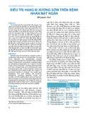 Điều trị hạng III xương sớm trên bệnh nhân mặt ngắn
