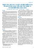 Thừa cân, béo phì và một số đặc điểm dịch tễ học ở học sinh tiểu học tại quận 10, Tp.HCM năm học 2008-2009
