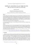 Nghiên cứu ảnh hưởng của quá trình thi công đến an toàn xây dựng tại Việt Nam
