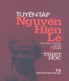 Nguyễn Hiến Lê - Tuyển tập Triết học: Phần 3