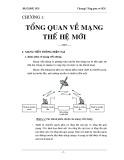 Bài giảng Mạng thế hệ mới - Chương 1: Tổng quan về NGN