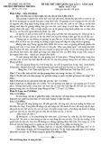 Đề thi thử THPT Quốc gia 2019 môn Ngữ văn lần 1 có đáp án - Trường THPT Đoàn Thượng