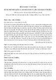 Đề thi thử THPT Quốc gia 2019 môn Ngữ văn lần 1 có đáp án - Trường THPT Lê Xoay