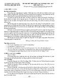 Đề thi thử THPT Quốc gia 2019 môn Ngữ văn có đáp án - Trường THPT Phú Bình