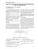 Phân tích trạng thái ứng suất của khối đắp nền đường theo lý thuyết đàn hồi