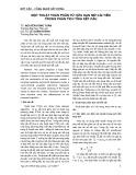 Một thuật toán phần tử hữu hạn mờ cải tiến trong phân tích tĩnh kết cấu