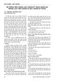 Hệ thống tiêu chuẩn, quy chuẩn kỹ thuật quốc gia trong Luật Tiêu chuẩn và quy chuẩn kỹ thuật