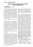 Dự báo độ võng của dầm bê tông cốt thép chịu tải trọng dài hạn