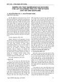 Nghiên cứu thực nghiệm đánh giá khả năng chịu lực của dằm bê tông cốt thép sử dụng chất kết dính Geopolime