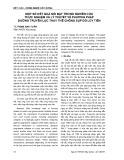 Một số kết quả nổi bật trong nghiên cứu thực nghiệm và lý thuyết về phương pháp đường truyền lực thay thế chống sụp đổ lũy tiến