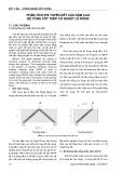 Phân tích phi tuyến kết cấu dầm cao bê tông cốt thép có khoét lỗ rỗng
