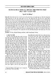 Đánh giá hoạt tính của tro bay theo phương pháp trực tiếp và gián tiếp - Nguyễn Văn Hướng
