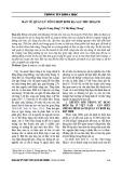 Bàn về quản lý tổng hợp rơm rạ sau thu hoạch - Nguyễn Trung Dũng, Vũ Thị Hồng Nhung