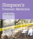 Forensic medicine of Simpson (Thirteenth edition): Part 2