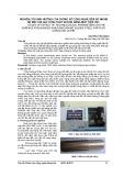 Nghiên cứu ảnh hưởng của thông số công nghệ đến độ nhám bề mặt khi gia công thép SUS304 bằng máy tiện CNC