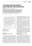 Thực trạng và giải pháp triển khai dịch vụ công trực tuyến tại bộ tài chính